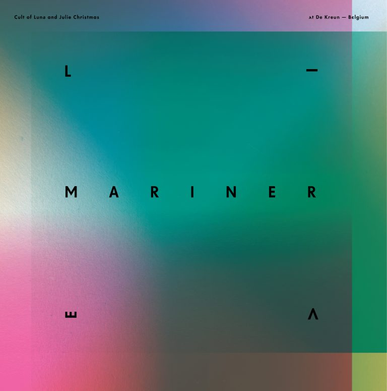 CULT OF LUNA & JULIE CHRISTMAS - MARINER - LIVE AT DE KREUN - BELGIUM_Coverart