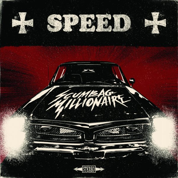 Scumbag Millionaire - Speed - album cover - CD - LP