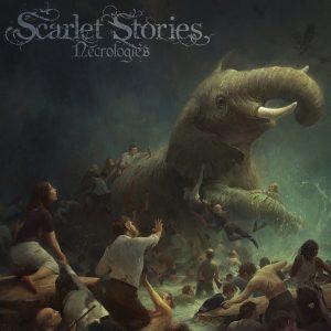 Scarlet Stories - Necrologies _ coverart