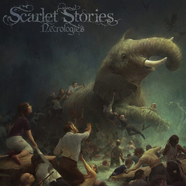 Scarlet Stories - Necrologies _ coverart