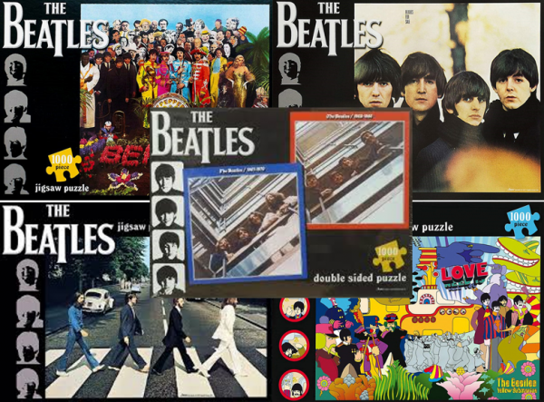Beatles puzzels