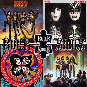 kiss - Rocksaw covers