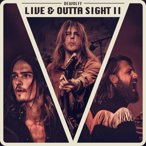 DeWolff – Live & Outta Sight II_coverart