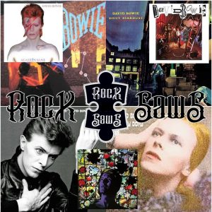 David Bowie rocksaws Puzzels