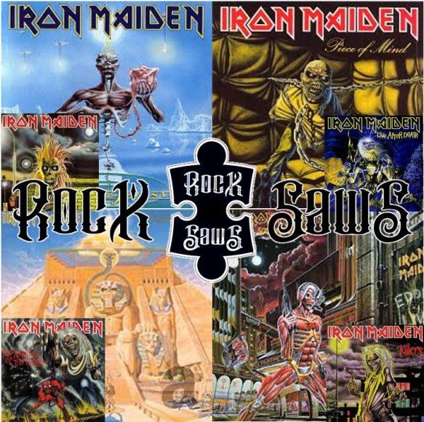Iron Maiden Rocksaws Puzzels