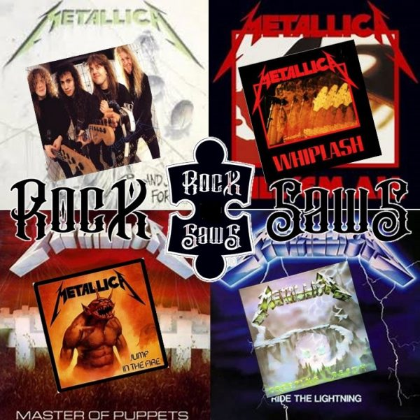 Metallica Rocksaws Puzzels_